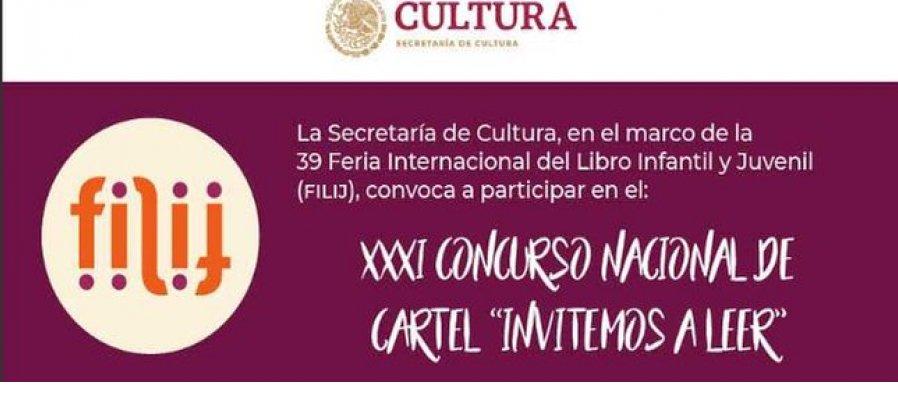 XXXI Concurso Nacional de Cartel Invitemos a Leer