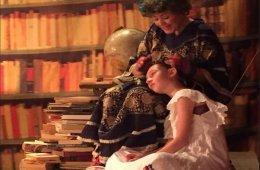 Nina, la niña come libros