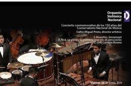 Orquesta Sinfónica Nacional. Gala del 150 Aniversario de...