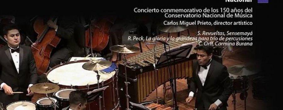 Orquesta Sinfónica Nacional. Gala del 150 Aniversario del Conservatorio Nacional de Música
