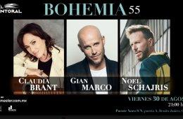 Bohemia 55: Claudia Brant, Gian Marco, Noel Schajris