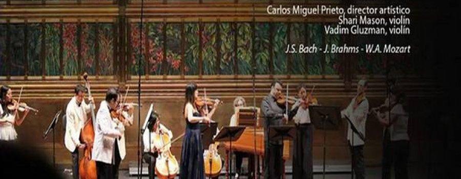 Orquesta Sinfónica Nacional: Vadim Gluzman & Shari Mason