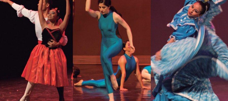 Función de graduación de la Escuela de Danza de la Ciudad de México