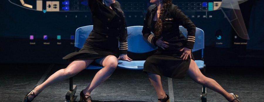 Transatlantic. Ladies on the Air