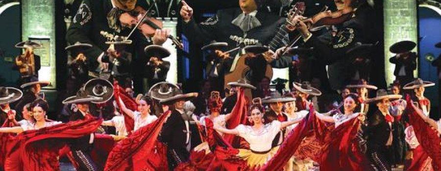 Ballet Folklórico de México de Amalia Hernández con Mariachi Vargas
