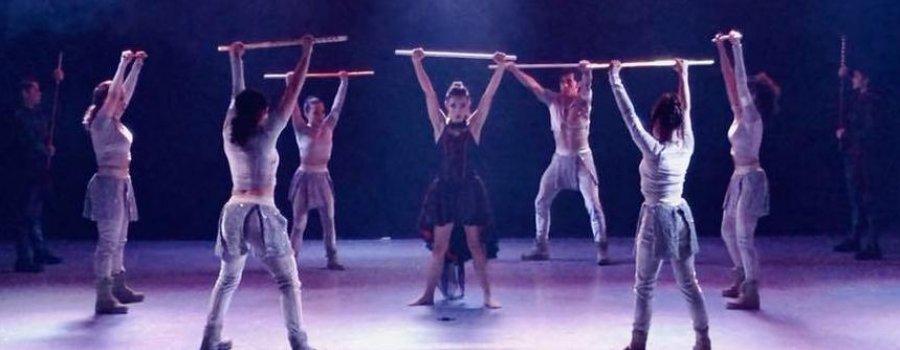 Prácticas escénicas de la Academia de la Danza Mexicana