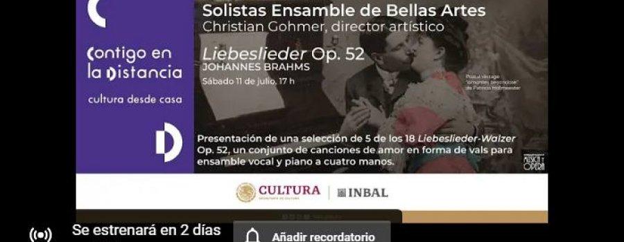 Liebeslieder Op. 52, Brahms