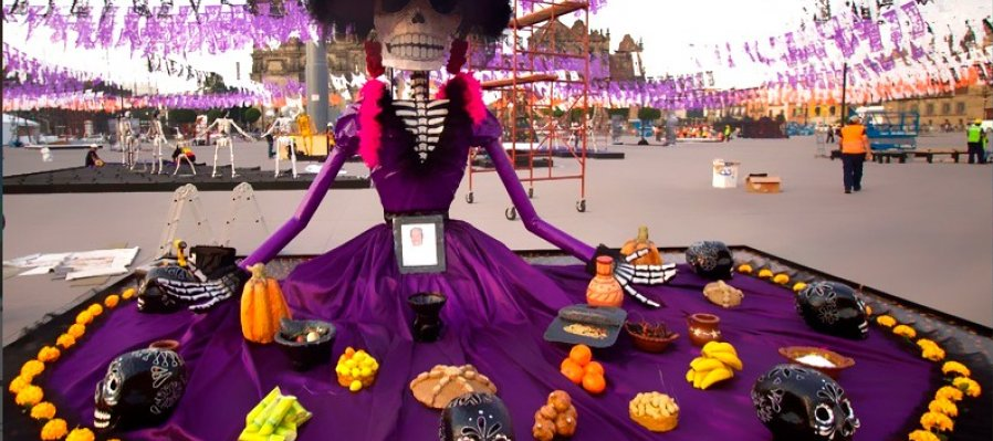 Monumental Altar of the Day of the Dead