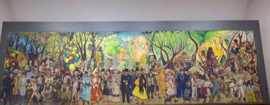 Recorrido virtual del Museo Mural Diego Rivera