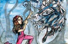 Juliana y Noir, el hada del bosque