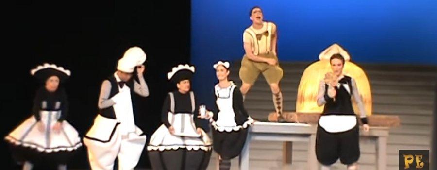 Cri Crí con la Compañía Nacional de Danza
