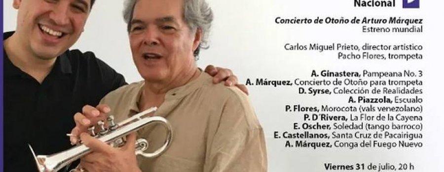 Orquesta Sinfónica Nacional. Concierto de Otoño de Arturo Márquez