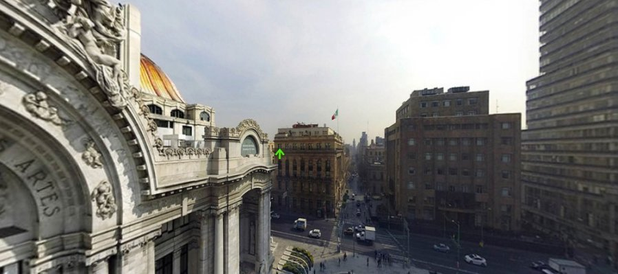 Recorrido virtual 360° Palacio de Bellas Artes