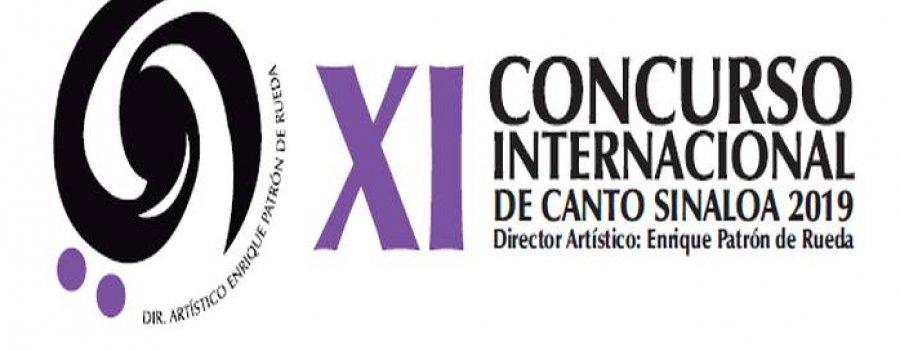 XI Concurso Internacional de Canto Sinaloa 2019