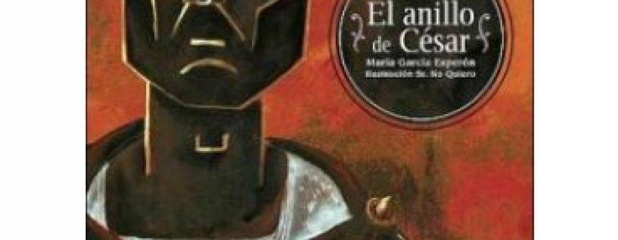 Reflexiones sobre los libros El anillo de César, Copo de algódon y Dido para Eneas.