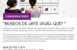 Museos de arte ¿Para qué?