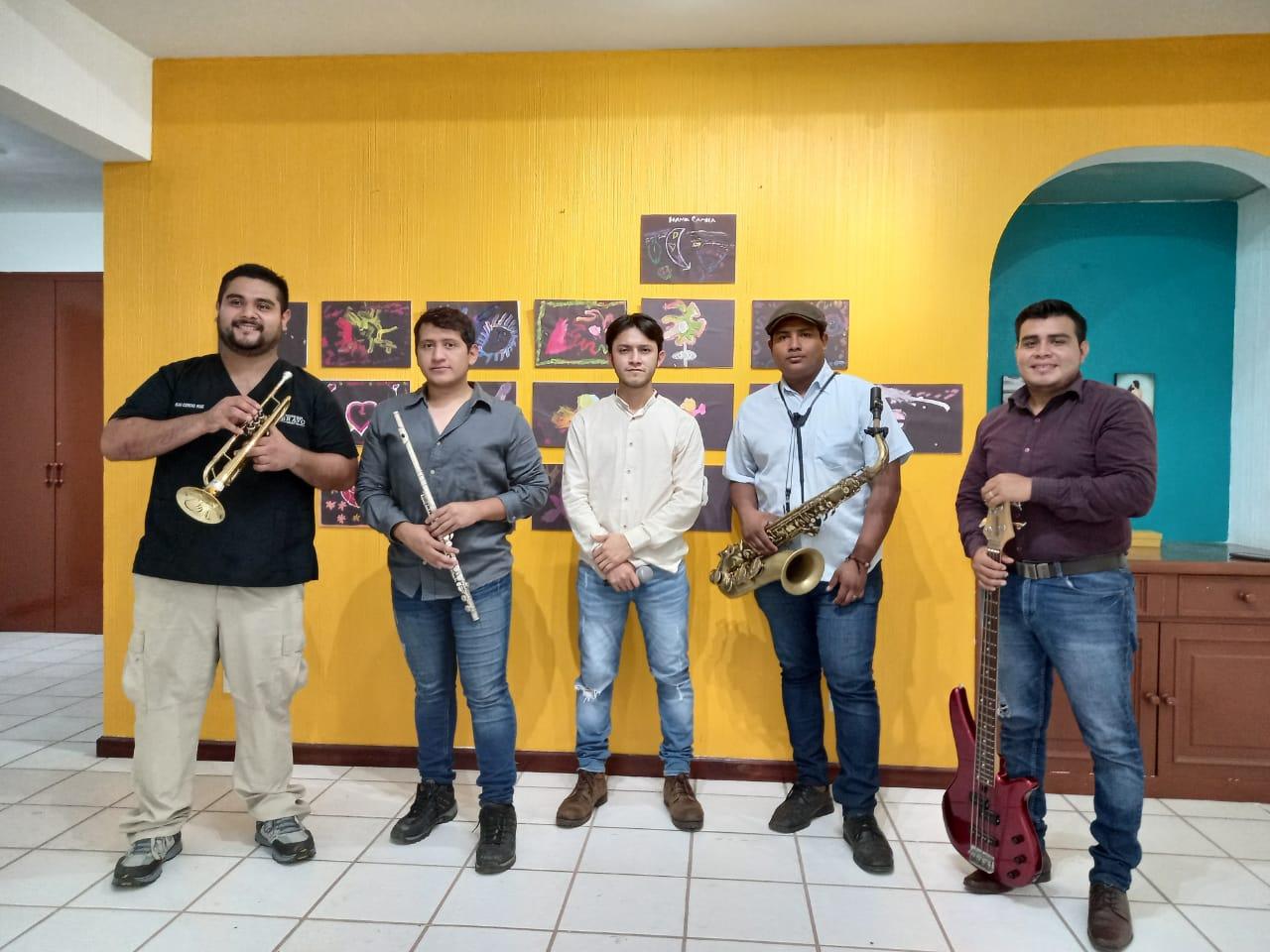 Ensamble musical de la Casa de la Cultura de Tapachula