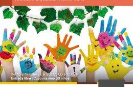 Arte, naturaleza y creatividad para niños y niñas