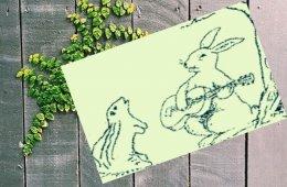 El conejo y el zorrillo