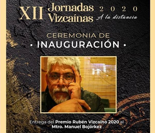 Ceremonia de Inauguración de las XII Jornadas Vizcaínas 2020