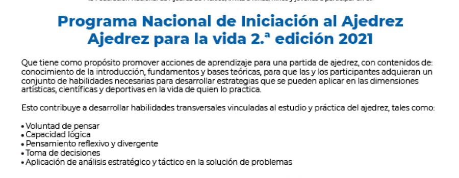 Programa Nacional de Iniciación al Ajedrez