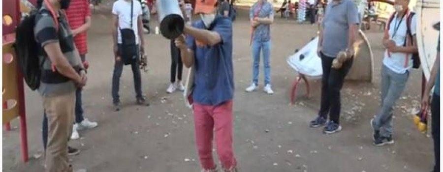 Inuksuit, por Mákuru Ensamble de Percusiones en el P. Las Riberas