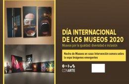 """Noche de Museos en casa """"Imágenes Emergentes"""""""