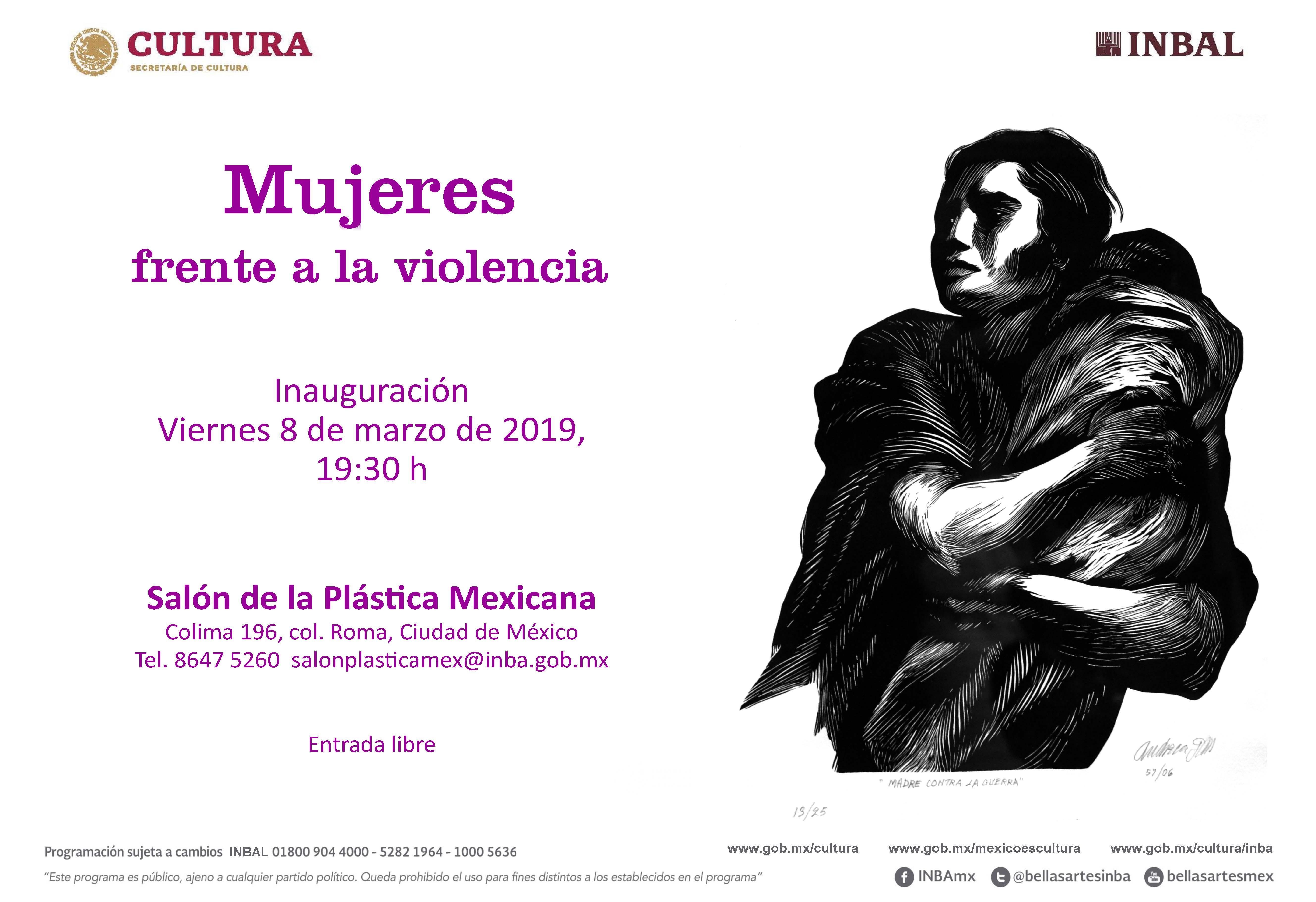 Mujeres frente a la violencia