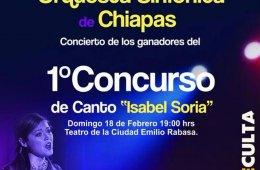 1er. Concurso de Canto Isabel Soria