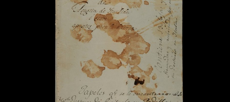 Manifiesto al mundo de Agustín de Iturbide, 1823