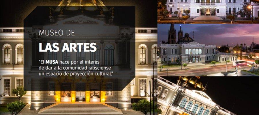Recorrido virtual: Museo de las Artes de la Universidad de Guadalajara (MUSA)