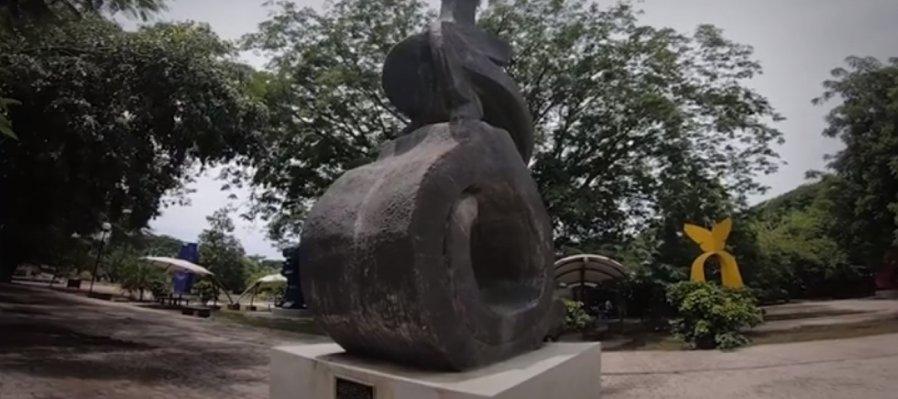 Jardín Escultórico Juan Soriano del Centro Estatal de las Artes Comala
