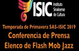 Conferencia con elenco de Flash Mob Jazz