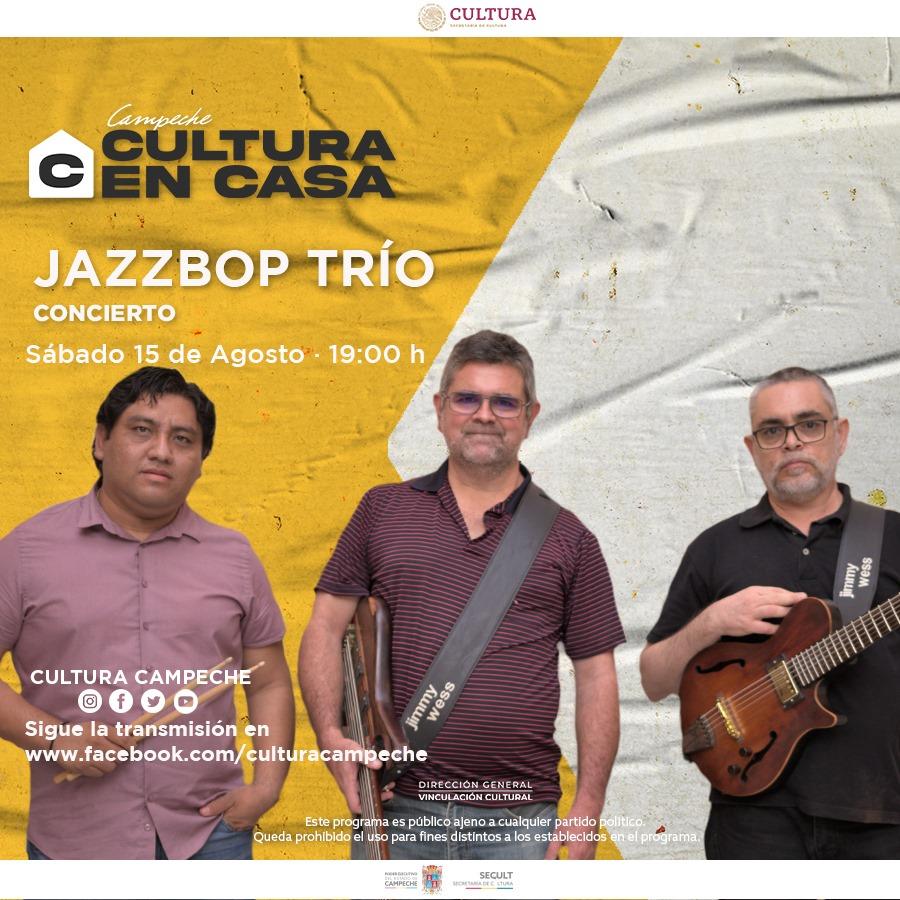 Jazz bop trio concierto
