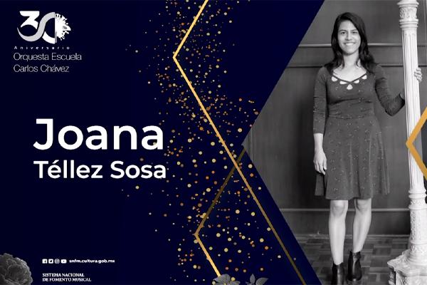 Concierto, examen de titulación de la especialidad en arpa: Joana Téllez