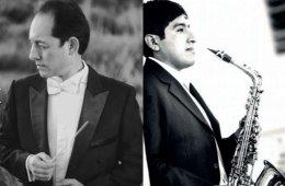 Jorge Luis Puma con la Orquesta Sinfónica de Yucatán
