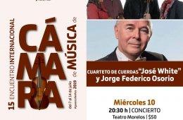 José White String Quartet and Jorge Federico Osorio
