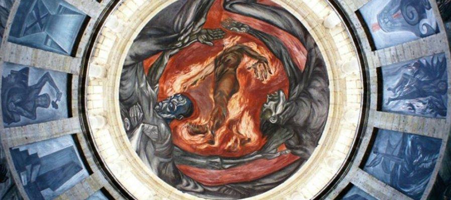 ¡Conoce los murales de José Clemente Orozco en el  Instituto Cultural Cabañas!