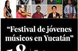 Festival de jóvenes músicos en Yucatán