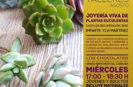 Joyería Viva de Plantas Suculentas