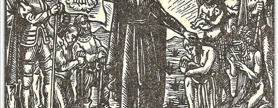 Pieza del mes: Cuatro cartas del padre Juan María de Salvatierra