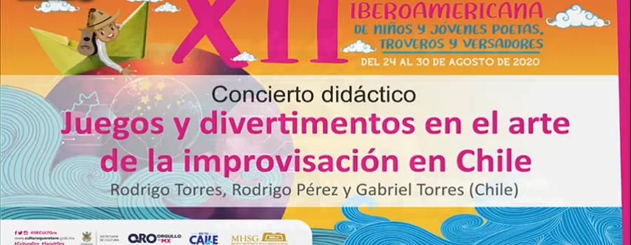 Juegos y divertimentos en el arte de la improvisación en Chile