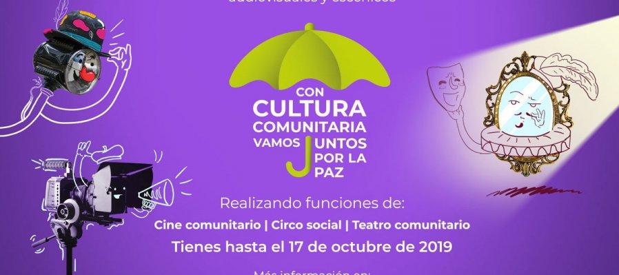 Con Cultura Comunitaria vamos Juntos por la paz