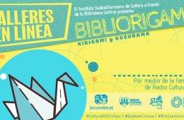 Bibliorigami, kirigami y kusudama: dinosaurio de papel