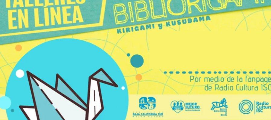 Bibliorigami, kirigami y kusudama: colibrí de papel