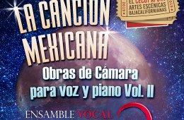 La canción mexicana, obras de cámara para voz y piano V...