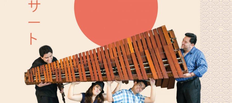 La marimba teje un puente entre México y Japón