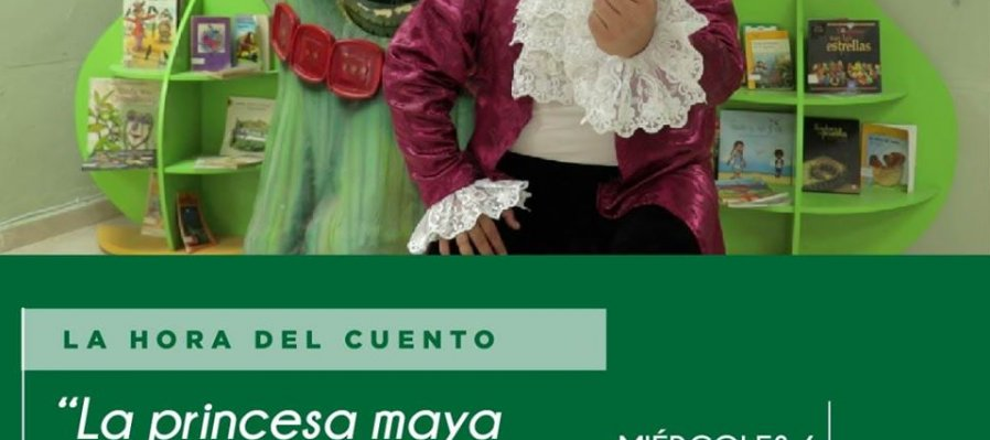 La Princesa maya y su brazo de chaya