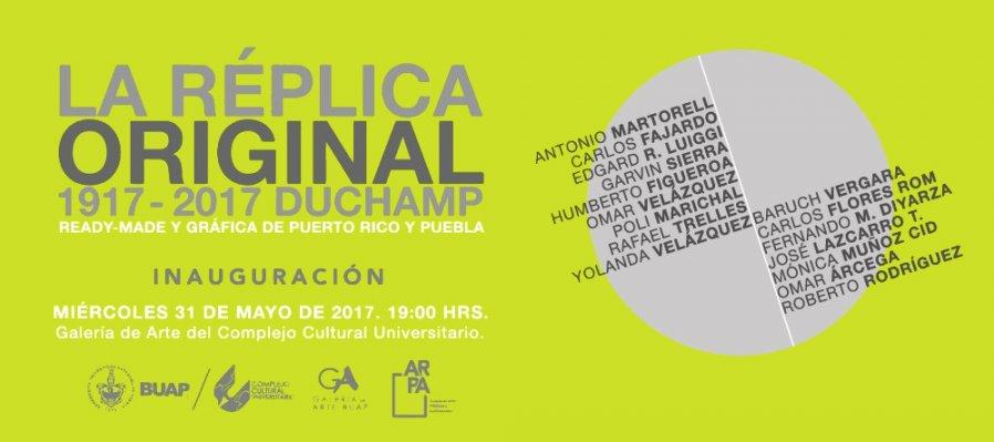 La Réplica Original 1917 – 2017 Duchamp