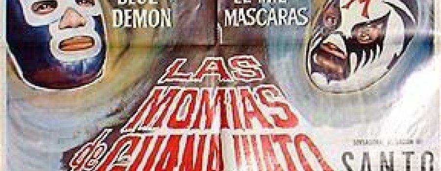 Santo vs Las momias de Guanajuto